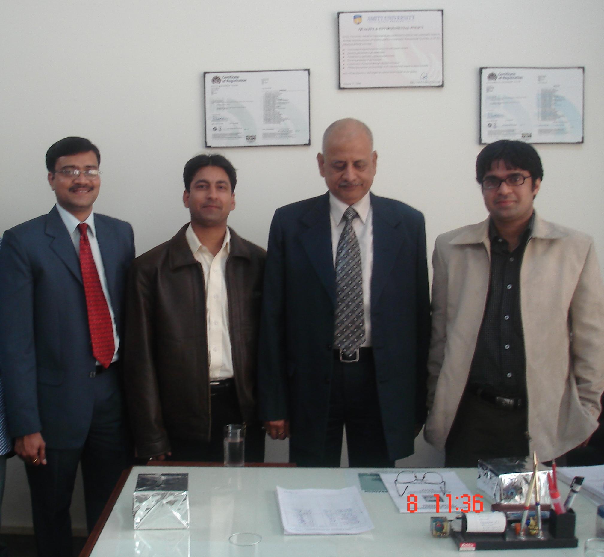 Amity University Kapil Srivastava Image