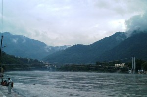 Bridge at the Ganges Haridwar