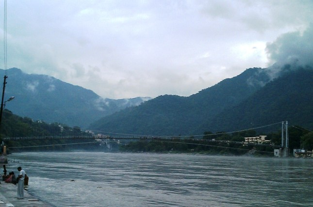 Bridge at the Ganges Haridwar
