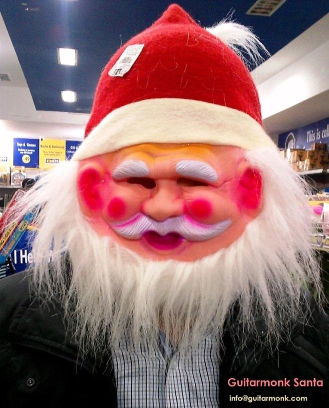 Guitarmonk Santa