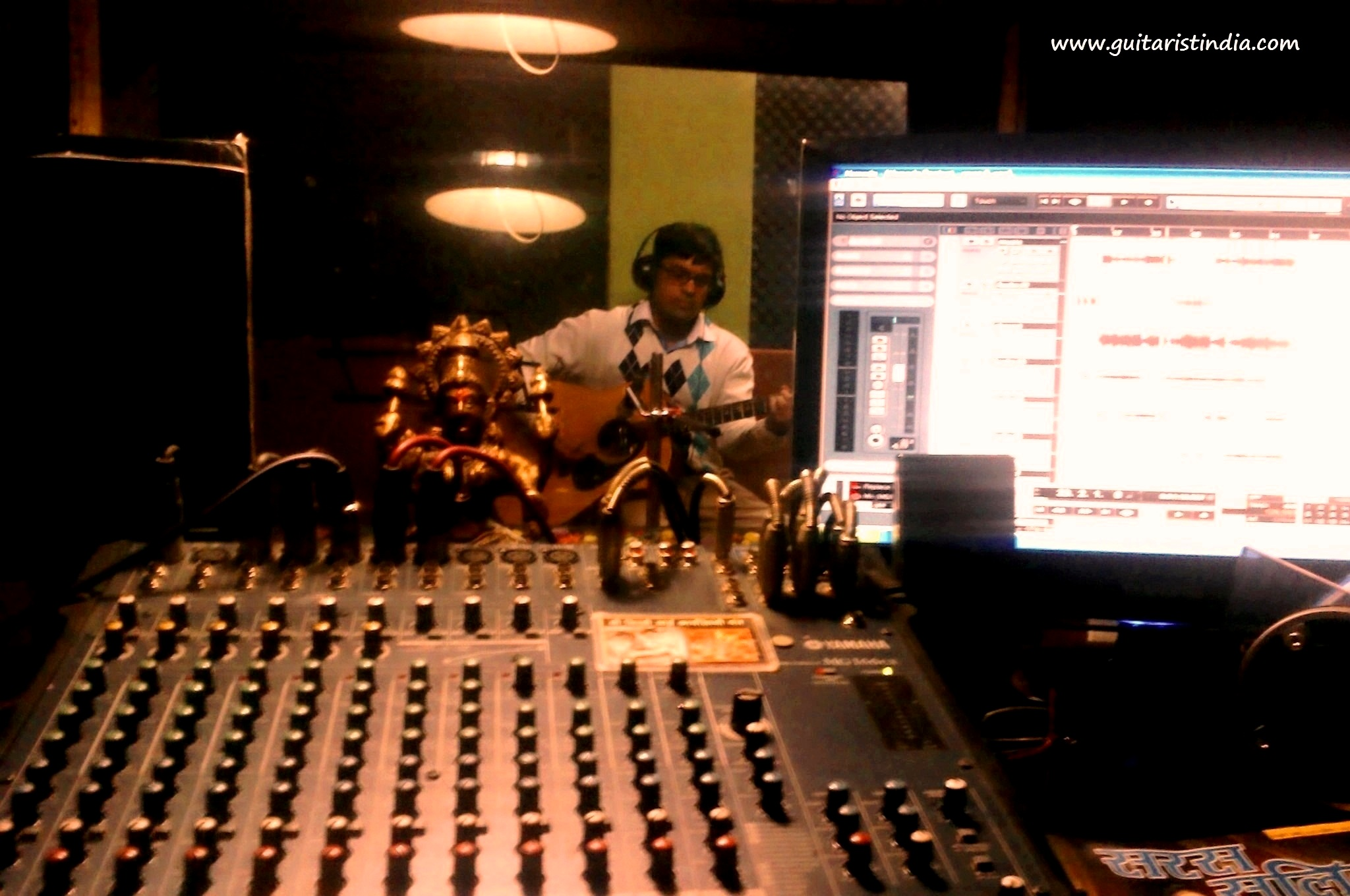 Had a hectic recording session today :)