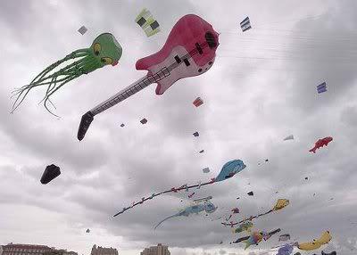 Guitar Kites