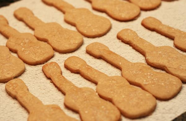 Guitar Cookies