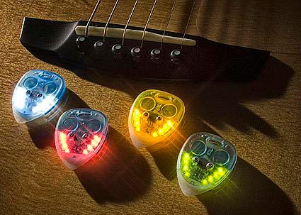 Lighted Guitar Picks
