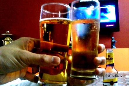 Beer Guitarist India 2