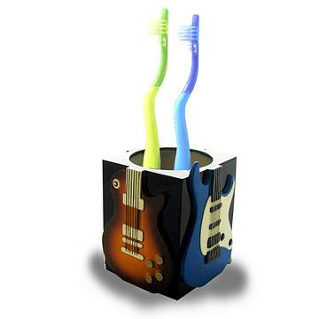 53_Guitar Tooth Brush Holder