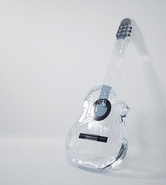 62_Water Transparent Guitar