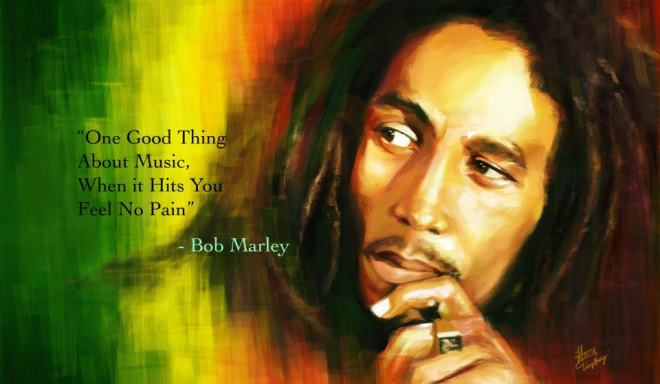 Bob Marley on Music