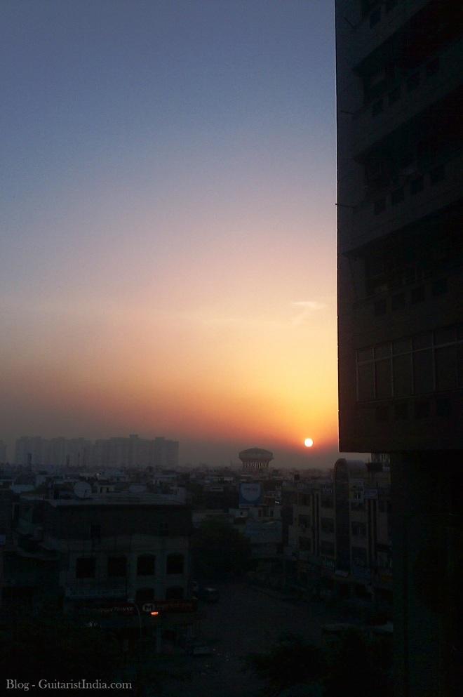 Sunrise..!