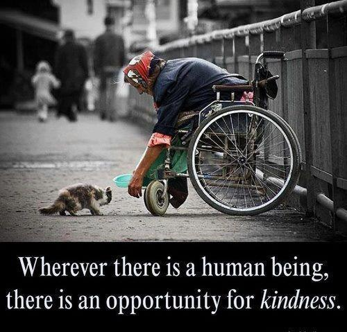 wherever there is human