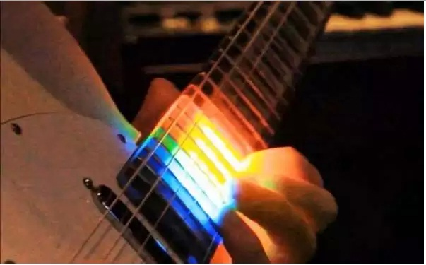 98_Colorful LED Guitars