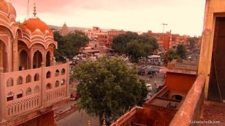 Hawa Mahal Roof Image