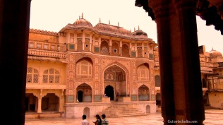 inside amer fort jaipur