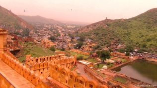 amber fort top view