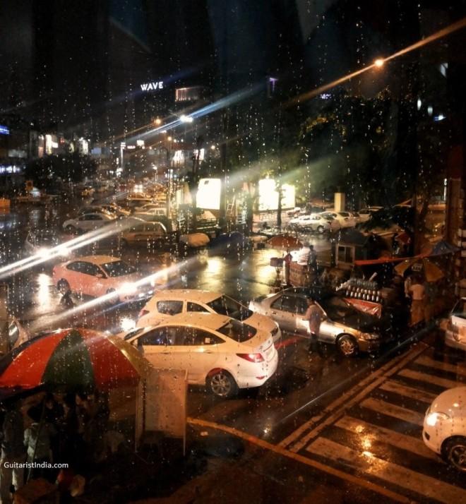 182_Rain Click @ Noida Sec 18 today