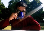A Cup of Tea at Osho Dham Image