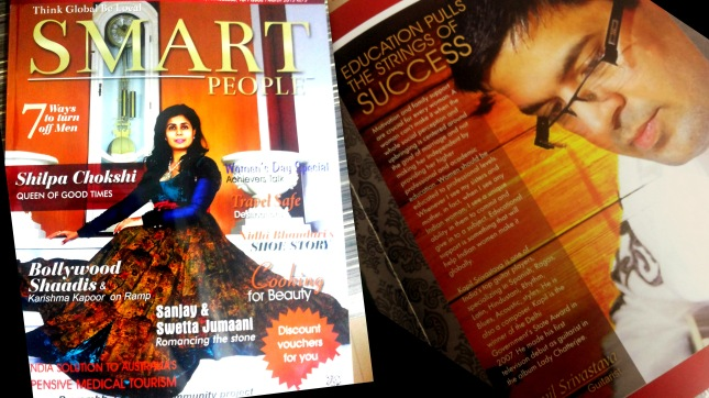 Kapil Srivastava Smart People Magazine