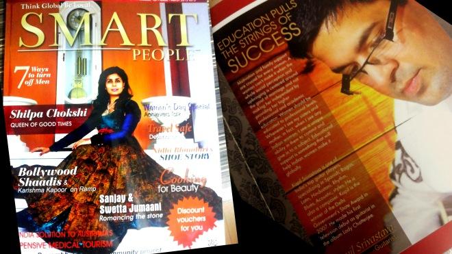 Kapil Srivastava Smart People Magazine