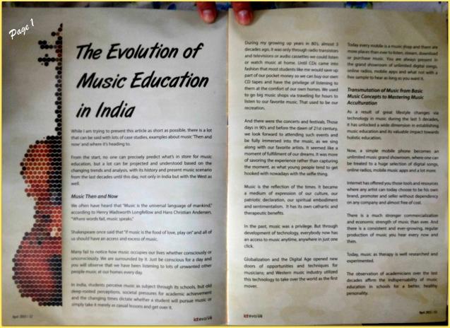 ICT Academy Evolution of Music