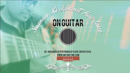 Saanson-Ki-Jarurat-Hai-Jaise-on-Guitar Aashiqui