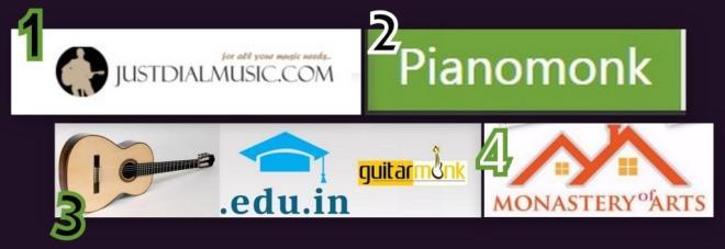 Guitarmonk 2015 Websites Brands