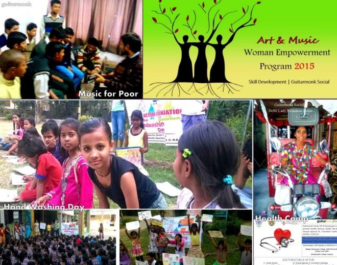 Guitarmonk Social CSR Activities