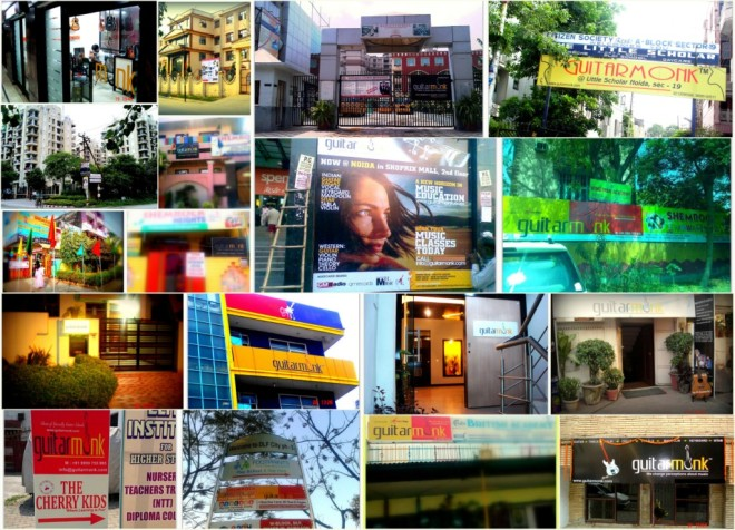 Guitarmonk Locations & Cities India