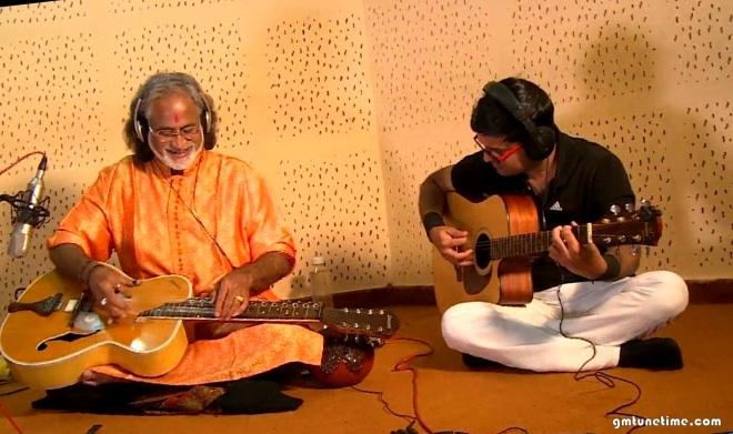 Pt. Vishwa Mohan Bhatt and Guitarist Kapil Srivastava