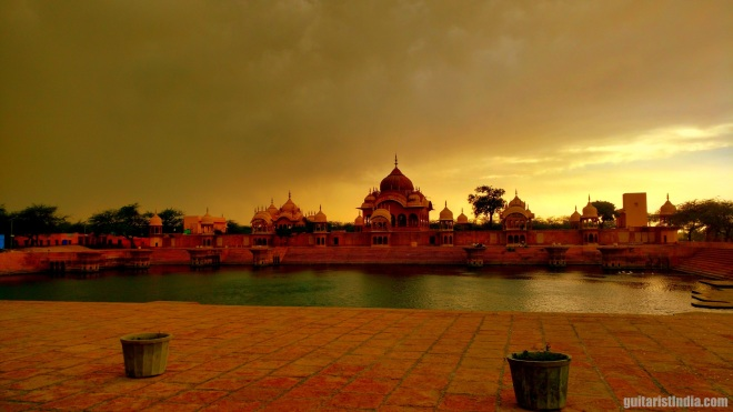 Scenic beauty of Vrindavan