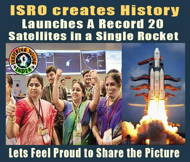 ISRO Celebrates History