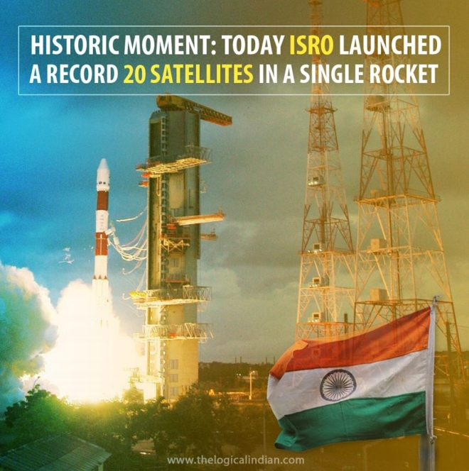 ISRO Sets new Record