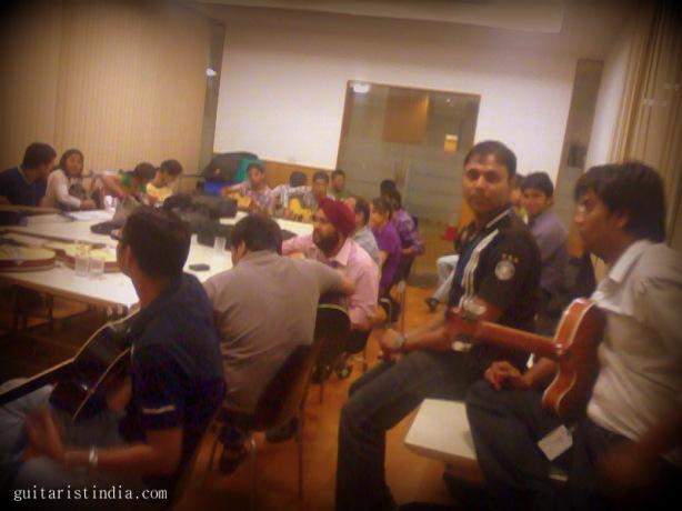 Guitar Workshop Guitarist India